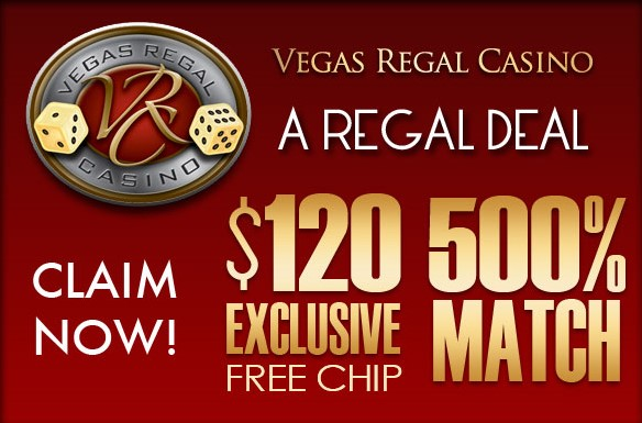 Vegas Regal Mobile Casino 120 Free No Deposit Mobile Casino Bonus